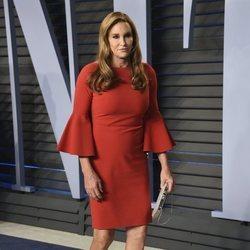 Caitlyn Jenner en la fiesta Vanity Fair tras los Oscar 2018