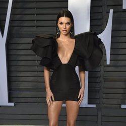 Kendall Jenner en la fiesta Vanity Fair tras los Oscar 2018