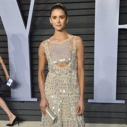 Nina Dobrev en la fiesta Vanity Fair tras los Oscar 2018