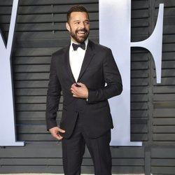 Ricky Martin en la fiesta Vanity Fair tras los Oscar 2018