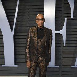 RuPaul en la fiesta Vanity Fair tras los Oscar 2018