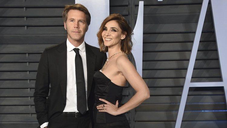 Filiberto Saboya y Clotilde Courau en la fiesta Vanity Fair tras los Oscar 2018