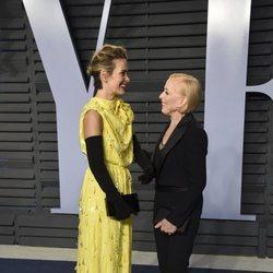 Sarah Paulson y Holland Taylor en la fiesta Vanity Fair tras los Oscar 2018