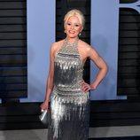 Elizabeth Banks en la fiesta Vanity Fair tras los Oscar 2018