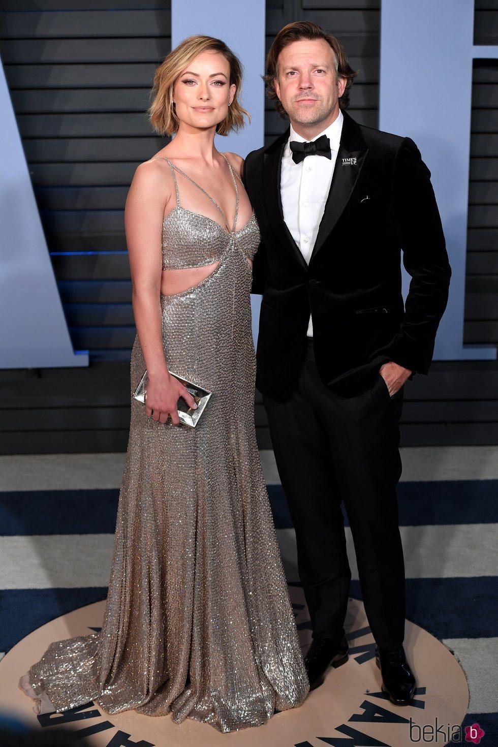 Olivia Wilde y Jason Sudeikis en la fiesta Vanity Fair tras los Oscar 2018