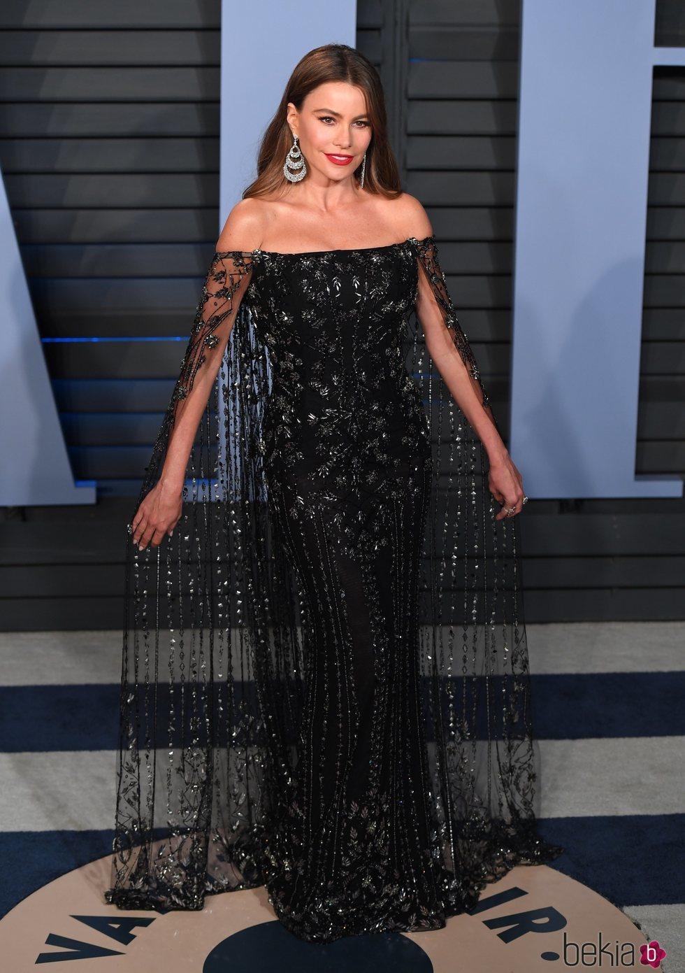 Sofía Vergara en la fiesta Vanity Fair tras los Oscar 2018