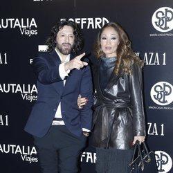 Rafael Amargo y Yuko Sumida en la presentación del cartel de la Feria de San Isidro 2018