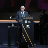 El Rey Juan Carlos agradece el galardón Embajador Universal de la Tauromaquia