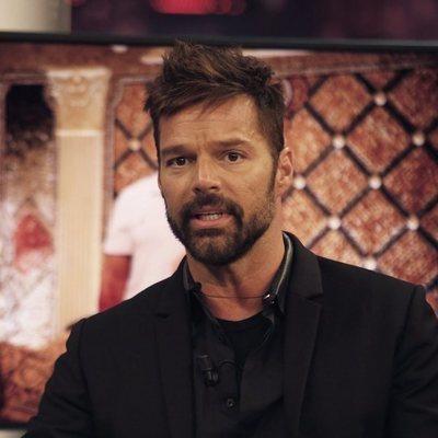 El cantante Ricky Martin visita 'El hormiguero'