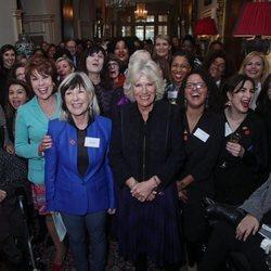 Camila Parker celebra el Día de las Mujeres en Londres
