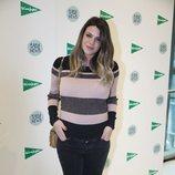 Laura Matamoros embarazada en la presentación de 'Baby News' en Madrid
