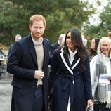 El Príncipe Harry y Meghan Markle en su primera visita juntos a Birmingham