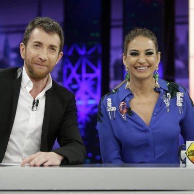 Mariló Montero junto a Pablo Motos en 'El Hormiguero'