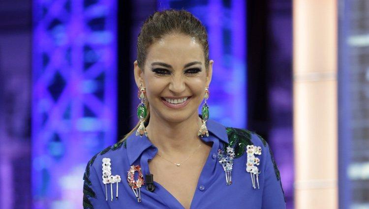 Mariló Montero muy sonriente en 'El Hormiguero'
