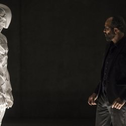 Jeffrey Wright en un capítulo de la segunda temporada de 'Westworld'