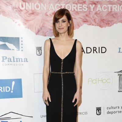 Alexandra Jiménez en el photocall de los Premios Unión de Actores 2018