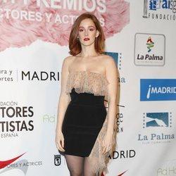Ana Polvorosa en el photocall de los Premios Unión de Actores 2018