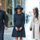 Los Duques de Cambridge, el Príncipe Harry y Meghan Markle en el Día de la Commonwealth 2018
