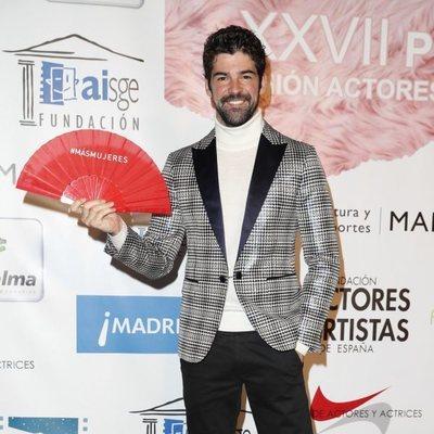 Miguel Ámgel Muñoz en el photocall de los Premios Unión de Actores 2018
