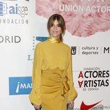 Manuela Velasco en el photocall de los Premios Unión de Actores 2018