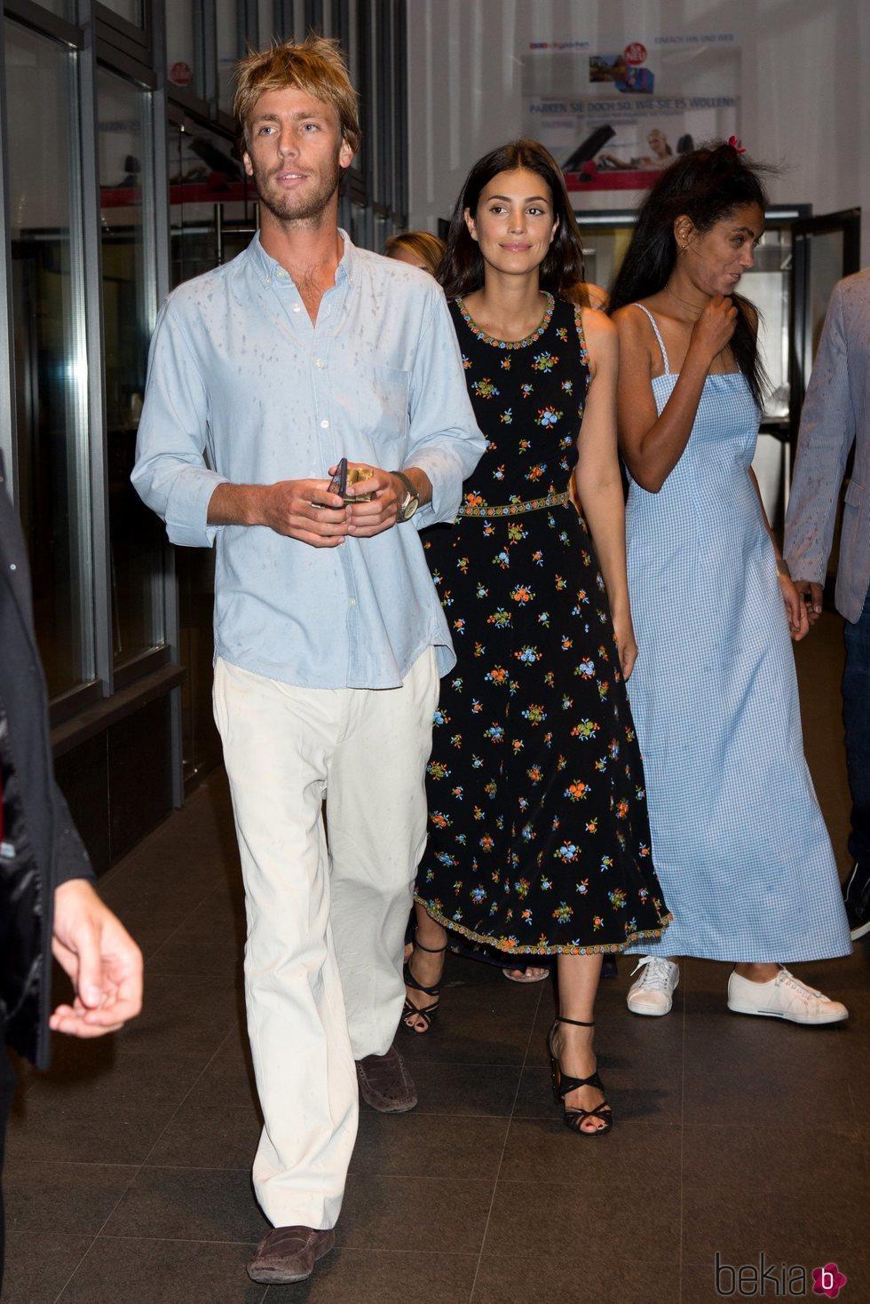 Christian de Hannover y Alessandra de Osma en la fiesta previa a la boda de Ernesto de Hannover y Ekaterina Malysheva