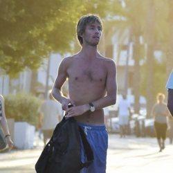 Christian de Hannover se pasea sin camiseta por Ibiza