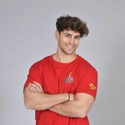 Sergio Carvajal en la foto oficial de 'Supervivientes 2018'