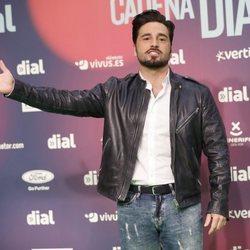 David Bustamante, divertido en los Premios Cadena Dial 2018
