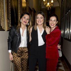 Nagore Robles, Sandra Barneda y Raquel Sánchez Silva en la presentación de 'Las hijas del agua'