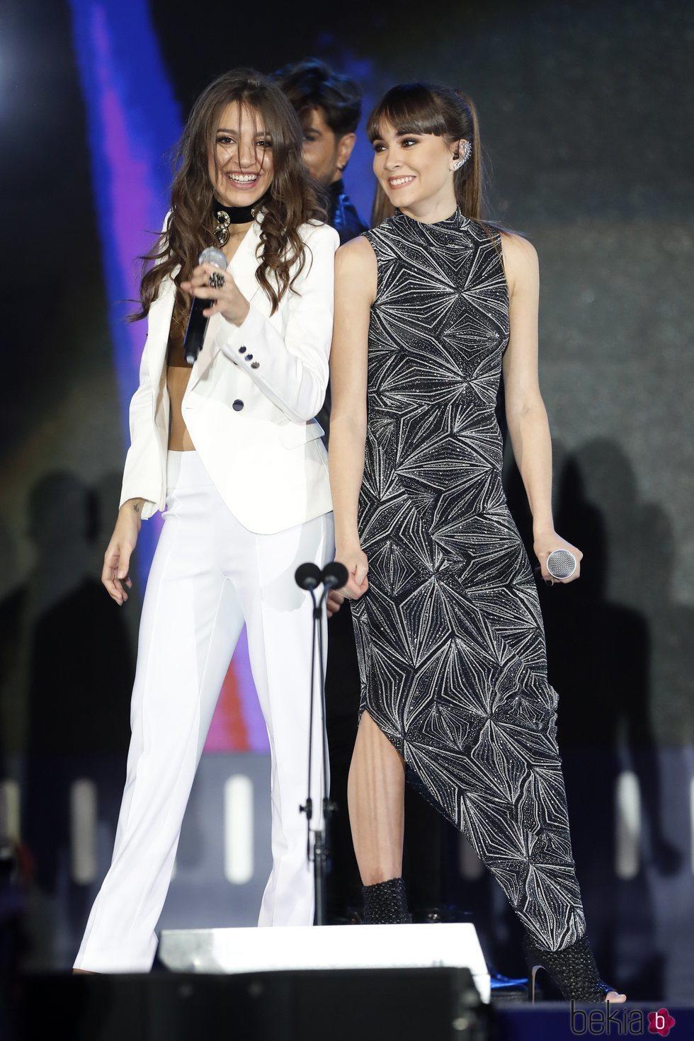 Aitana y Ana Guerra en los Premios Cadena Dial 2018