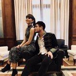 Aitana y Cepeda muy tiernos antes de los Premios Cadena Dial