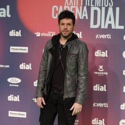 Pablo López en los Premios Cadena Dial 2018