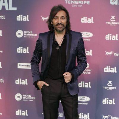 Antonio Carmona en los Premios Cadena Dial 2018