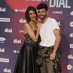Ana Guerra y Agoney en los Premios Cadena Dial 2018