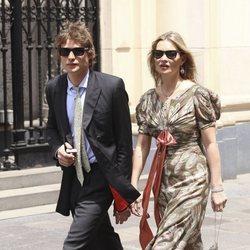 Kate Moss en la boda del Príncipe Christian de Hannover y Alessandra de Osma
