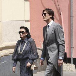 Luis Medina en la boda de Christian de Hannover y Alessandra de Osma