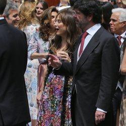 Tamara Falcó en la boda de Christian de Hannover y Alessandra de Osma
