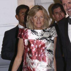 Chantal Hochuli acude a la fiesta de largo de Christian de Hannover y Alessandra de Osma