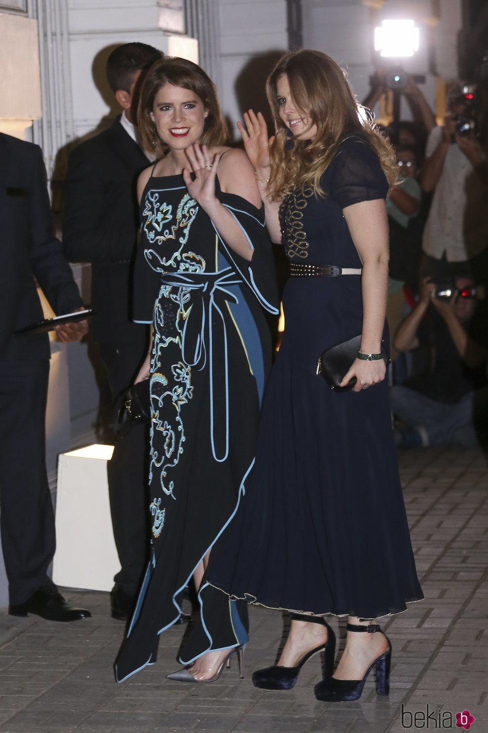 173bbb00b411 Las Princesas de York en la fiesta de largo de Christian de Hannover ...