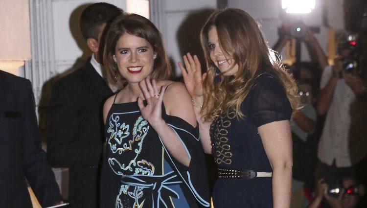Las Princesas de York en la fiesta de largo de Christian de Hannover y Alessandra de Osma