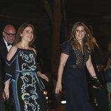 Las Princesas de York acuden a la fiesta de largo de Christian de Hannover y Alessandra de Osma