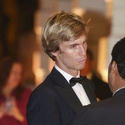 El Príncipe Christian de Hannover en su fiesta de largo