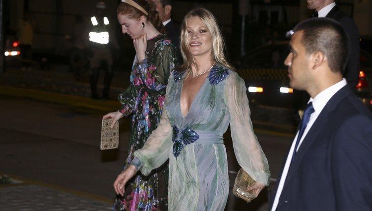 Kate Moss en la fiesta de largo de Christian de Hannover y Alessandra de Osma