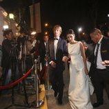 Christian de Hannover y Alessandra de Osma llegando a su fiesta de largo