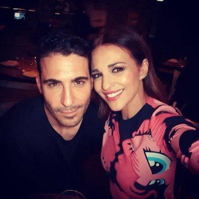 Paula Echevarría con Miguel Ángel Silvestre en Los Angeles
