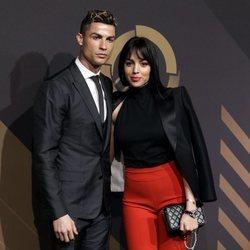 Cristiano Ronaldo y Georgina Rodríguez en los Premios de la Federación de Portugal 2018