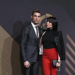 Georgina Rodríguez y Cristiano Ronaldo en los Premios de la Federación de Portugal 2018