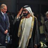 El Emir de Dubai en los Premios Global Teacher 2016
