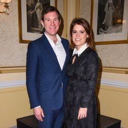 Eugenia de York y Jack Brooksbank en un concierto benéfico