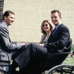 El Rey Felipe, la Infanta Cristina e Iñaki Urdangarin en Noruega
